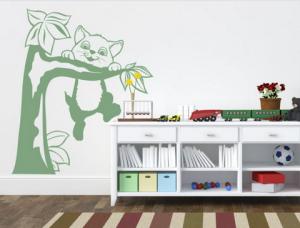 מדבקת קיר לחדר של ילד